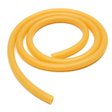 8mm×100cm Rubber Hose Amber Latex Tube Bleed Tube Lab Supplies