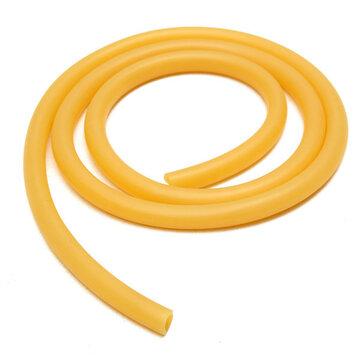 8mm×100cm Rubber Hose Amber Latex Tube Bleed Tube Lab Supplies