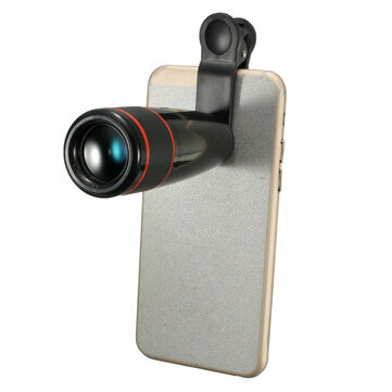 12X Zoom Clip-on Phone Telescope Telephoto Camera Lens for iPhone Samsung HTC Smartphone