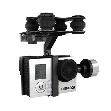 Walkera G-2D Brushless Gimbal Metal Version For iLook/GoPro Hero 3 Camera on Walkera QR X350 Pro RC