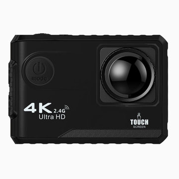 F100B NTK96660 16MP 4K 24FPS 170 Degree Wide Angle 2.0 Inch Touch Screen Wifi Sport Action Camera with Remote Control