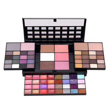 74 Colors Eyeshadow Palette Makeup Matte Eye Shadow Lip Gloss Blush Concealer Cosmetic