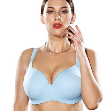 Push Up Full Cup Boobs Anti Sagging Underwire Gather Bra