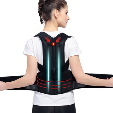 Plus Size Unisex Breathable Posture Corrector Hunchbacked Su