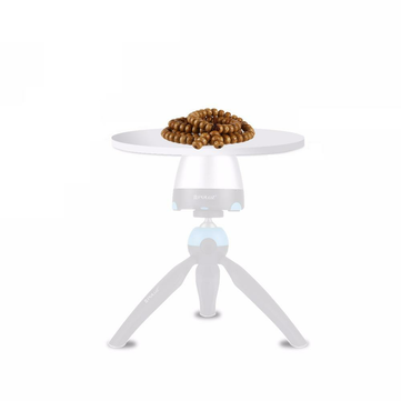 PULUZ PU363 One Quarter Inch Screw Interface Round Tray Props 18cm Diameter for Tripod Head