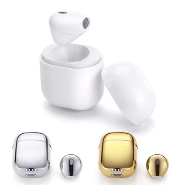 IP8 Mini Single Wireless Bluetooth Earphone Invisible Headphone with Charging Box for iPhone Xiaomi