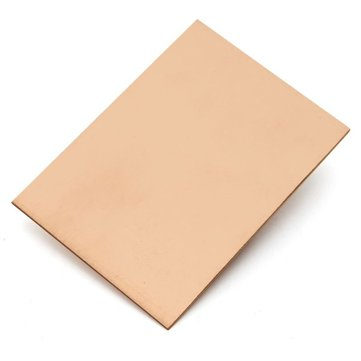 FR4 100x70mm Single Side Copper Clad Laminate PCB Board Fiberboard CCL