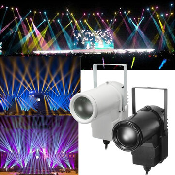 5W RGBW LED Stage Light Spin Effect Pinspot Party Show Light for Disco KTV DJ AC90-240V