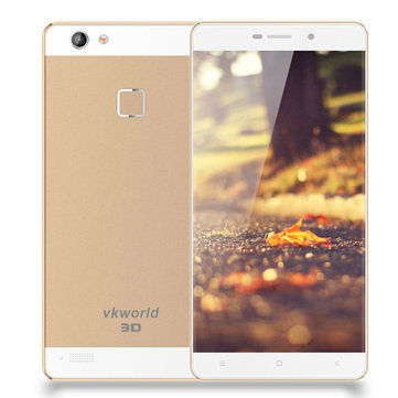 Vkworld Discovery S2 5.5 Inch 2GB RAM 16GB ROM MTK6735 1.3GHz Quad-core Naked-Eye 3D 4G Smartphone