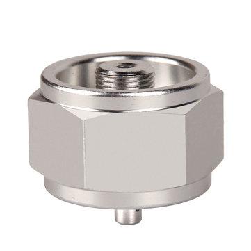 IPRee® Camping Cooking Stove Hexagonal Converter Aluminum Propane LP Gas Regulator Valve Refill Adapter