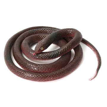 120cm Soft Rubber Lifelike Snake Toy Snake Party Bag Filler Halloween Joke Prop