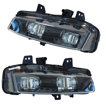 Car LED Front Bumper Fog Lights White Lamp for Range Rover Evoque Dynamic 2011-2016