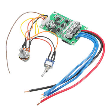 DC 12V-36V 500W High Power Brushless Motor Controller Driver Board Assembled No Hall