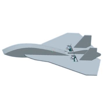 Z-52 Z52 420mm Wingspan Laser Cut KT Board RC Airplane KIT