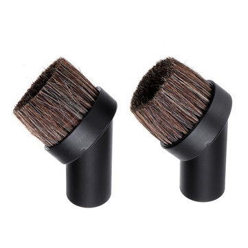 2pcs 32mm Dusting Soft Round Cleaning Brush For Numatic Henry Vacuum Haier Vacuum Cleaner