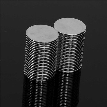 100pcs N50 15mm x 1mm Strong Round Disc Magnets Rare Earth Neodymium Magnet
