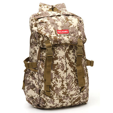 Canvas Outdoor Rucksack Camping Travel Hiking Sport Satchel Backpack School Bag