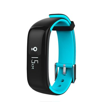 KALOAD Sports P1 Smart Bluetooth Bracelet Wristband Heart Rate Blood Monitor Waterproof IP67 Watch