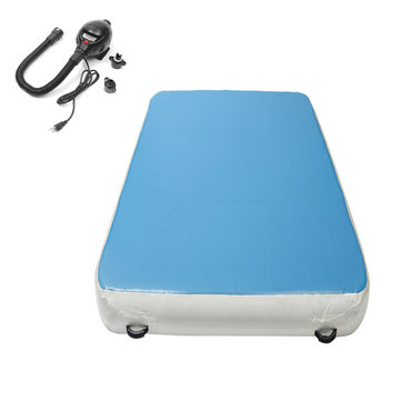 196.85x78.74x7.87inch Air Track Inflatable Gymnastics Mat Yoga Fitness Training Pad With Air Pump
