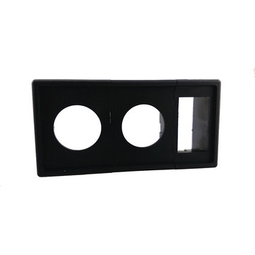 Two Round One Square AssemblE Mounting Frame Waterproof