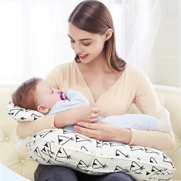 Baby Nursing Pillows Maternity Baby Breastfeeding Pillow Infant Cuddle U-Shaped Newbron Cotton Feeding Waist Cushion Infant Newborn Toddler Babies Nursing Pillow Adorable Babies Multi-Function Pillows