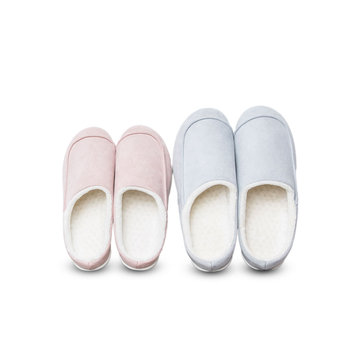 XIAOMI One Cloud Suede Cotton Slippers Soft Unisex Shoes For Woman And Man Winter Home Slippers
