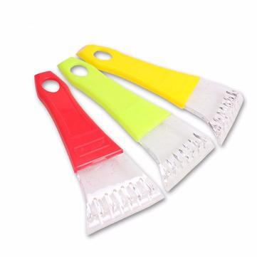 Mini Ice Shovel Car Wind Shield Snow Scraper Ice Scoop Red Green Yellow