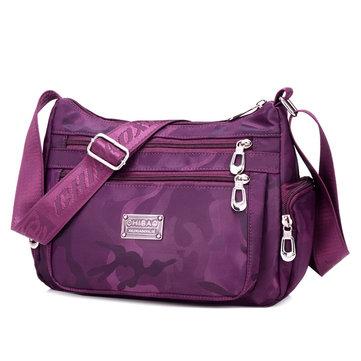Водонепроницаемый Женщины Нейлон вскользь мешок плеча Crossbody сумка для путешествий