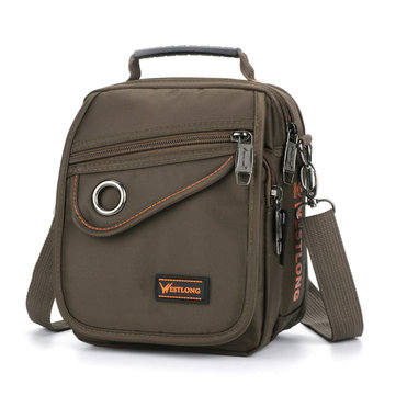Multifunctional Men Nylon Outdoor Sport Shoulder Bag Small Crossbody Bag