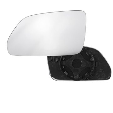 Left Passenger Side Heated Wide Angle Wing Car Mirror Glass For VW Polo 2006-2009