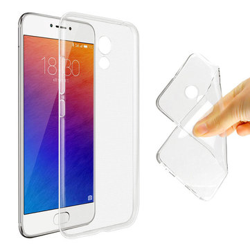 Bakeey Transparent Ultra Slim Soft TPU Protective Phone Case For Meizu Pro 6 Plus Global Version