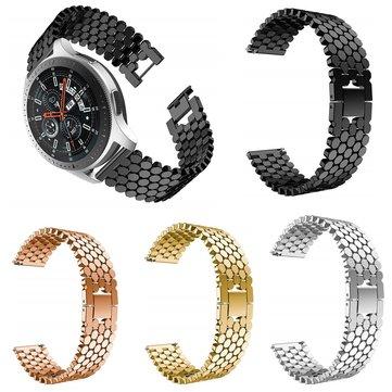 Montre en acier inoxydable Bakeey 46mm en acier inoxydable Bande Bracelet pour montre intelligente Galaxy Watch