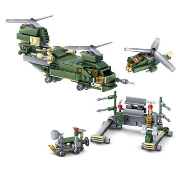 Christmas 16PCS Field Forces Assembled Building Blocks Toys Military Model For Kids Children Gift
