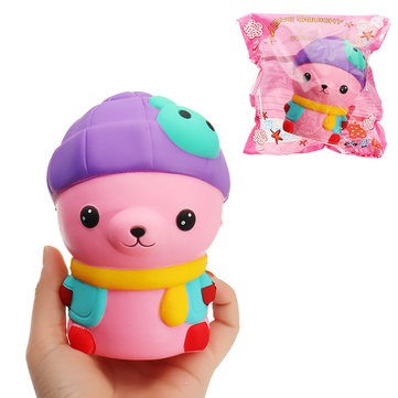 Rabbit Cat Squishy 12.5*9cm Slow Rising With Packaging Collection Gift Soft Toy