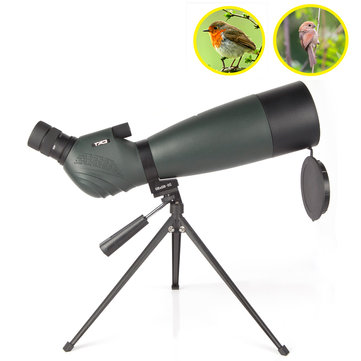 BOSMA CAT 20-60X80 Zoom Monocular HD BAK4 Optic Lens Waterproof Bird Watching Spotting Telescope