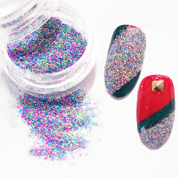 12 Mixed Colors Gradient Color Nail Powder Dust Manicure Nails Lip DIY Design Decoration