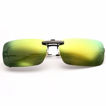 BIKIGHT Polarized Clip on Sunglasses Night Riding Vision Lens Anti-UVA Anti-UVB