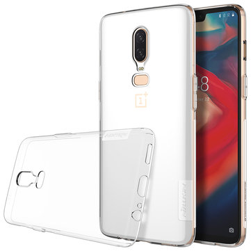 NILLKIN Transparent Ultra-Thin Shockproof Protective Case For Oneplus 6
