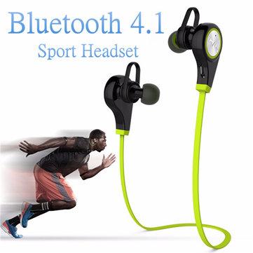 Sport Bluetooth V4.1 sans fil stéréo mains libres crochet d'oreille casque écouteur casque
