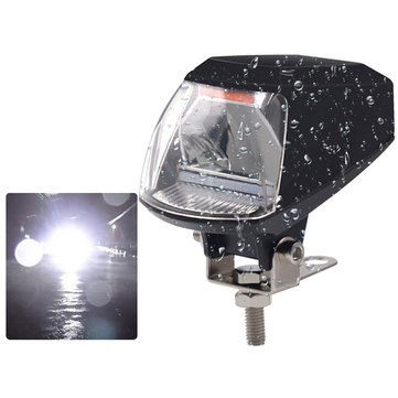 BIKIGHT Electric Bike LED Modified Headlight With USB Charger Waterproof Motorcycle Front Light