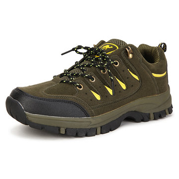 New Men Casual Breathable Fashion Non-slip Outdoor Low Top Wearproof Mountaineering Sport Shoes