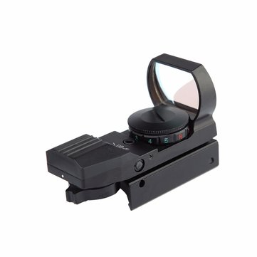 AURKTECH Hunting HD101A Tactical 1X20mm Airsoft Green Red Dot Reflex Sight With 4 Type Reticle
