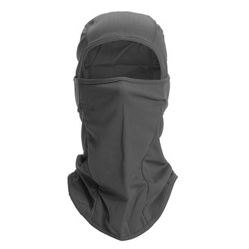 Men Women Outdoor Sport Cycling Dustproof Face Mask Hat Casual Solid Head Hoods
