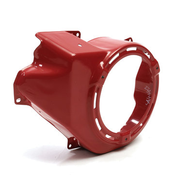 Red Recoil Pull Start Starter Cooling Fan Cover For HONDA GX340 11HP GX390 13HP