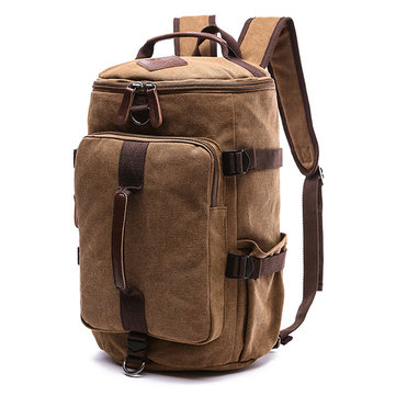 Outdoor Travel Bag Canvas Backpack Casual Rucksack for Men