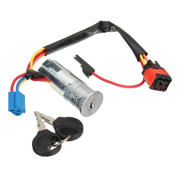 Ignition Switch Starter Barrel Lock Keys for Peugeot 206 for Citroen Picasso Xsara 4162P0