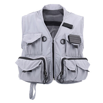 MAXCATCH Multifunction Fly Fishing Vest Hyfly Fishing Suit Outdoor Coat For Men