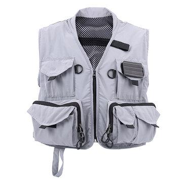 MAXCATCH Multifunctioneel Vliegvis Vest Hyfly Vispak Outdoorjas voor heren