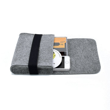 Usb Cable Power Bank Digital Accessories Felt Storage Bag