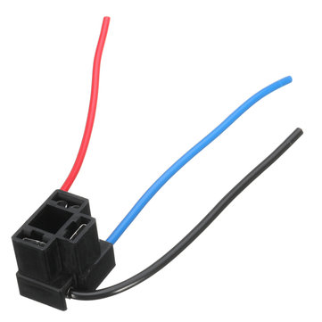 H4 Headlight 3 Pin Replacement Light Bulb Cable Bulb Holder Repair Connector Plug Wire Wiring